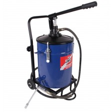 Bucket grease pump with trolley