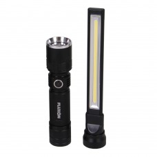 LED 2 in 1 werklamp en zaklamp