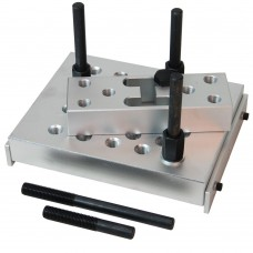 Universal adjustable press support block