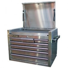 Toolbox stainless steel 7 drawers 70cm