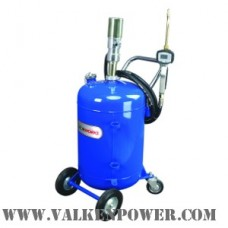 Oil pump dispensing unit