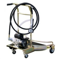 Mobile oil pump unit 230V 200Ltr