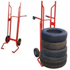 Tire carrier caddy