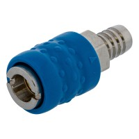 Universal air coupler with hose connector 13mm