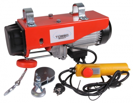 Cable hoist electric 500/990kg 230V