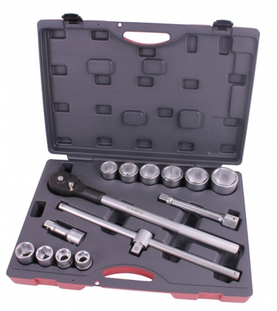 "Socket wrench set 3/4"" 14 pieces professional"