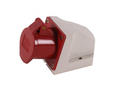 CEE industrial wall socket 4 pin 16A