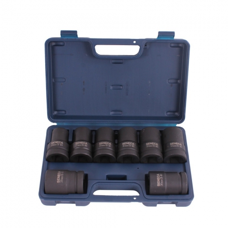"Deep impact socket set 1"" 8 pieces professional"