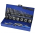 Tap and die set 32 pieces metric