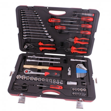 "Tool kit 1/4""&1/2"" 85 pieces professional"