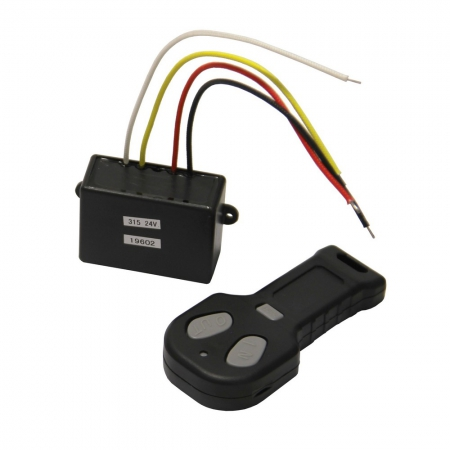 Wireless control for winch 24V
