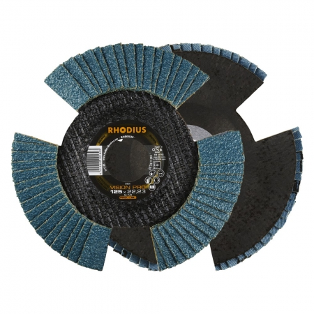 Flap disc V conical vision pro 125 x 22,23mm K80 10 pieces