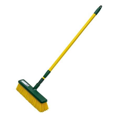 Broom with extendable handle